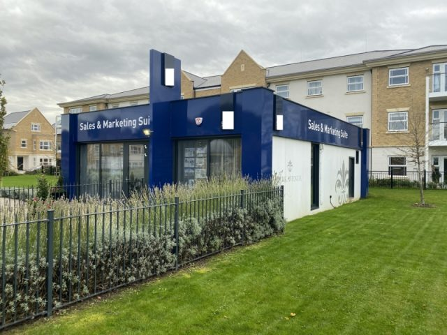 32ft x 40ft MARKETING SUITE, SHOWROOM, SALES OFFICE, GREAT CONDITION