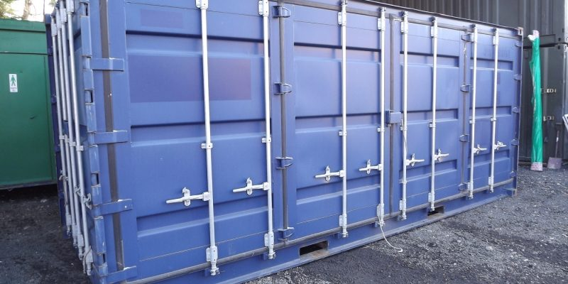 20ft x 8ft MOBILE SHOP UNIT, MARKETING SUITE, SHOWROOM, SALES OFFICE, SECURE, BASED ON SHIPPING CONTAINER