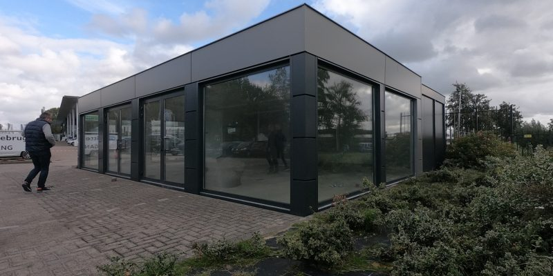 32ft x 40ft 4 BAY MODULAR BUILDING, CAR SALES UNIT, MARKETING UNIT