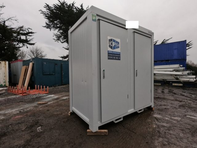 8ft x 5ft NEW BUILD 1+1 TOILET SHOWER BLOCK / MALE AND FEMALE