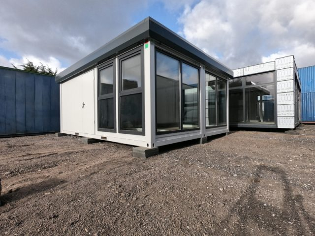 20ft x 16ft NEW SALES OFFICE 2 BAYS MODULAR BUILDING MARKETING UNIT