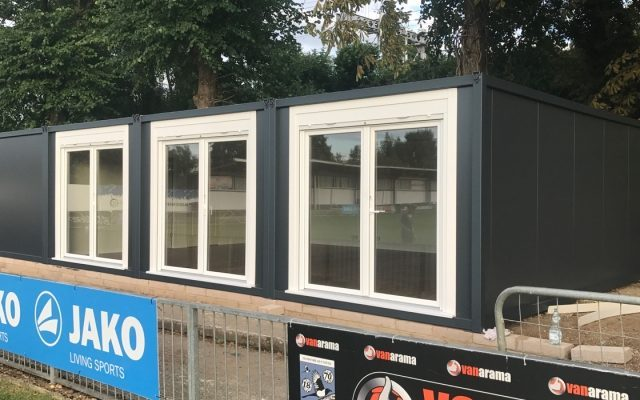 20ft x 40ft NEW BUILD 4 BAY MODULAR BUILDING