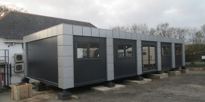 20ft x 50ft BRAND NEW 5 BAY MODULAR BUILDING SALES OFFICE SITE OFFICE MARKETING