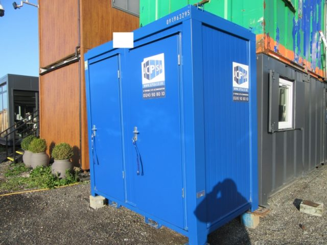 8ft x 5ft NEW BUILD 1+1 TOILET BLOCK / MALE AND FEMALE TOILET UNIT