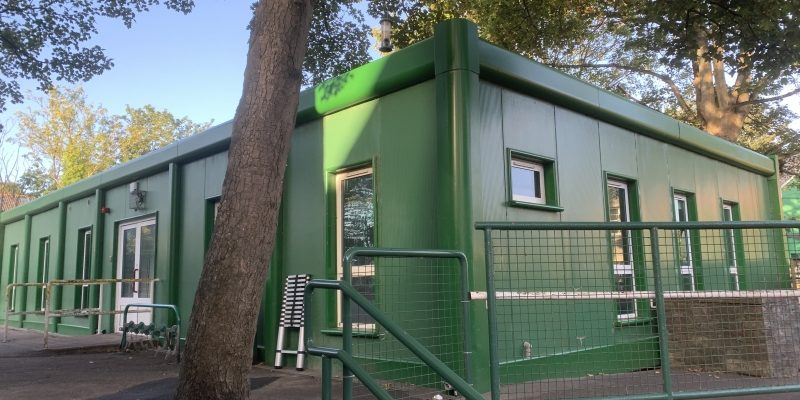 60ft x 32ft 6 BAY MODULAR BUILDING CLASS ROOM SITE OFFICE PORTABLE BUILDING