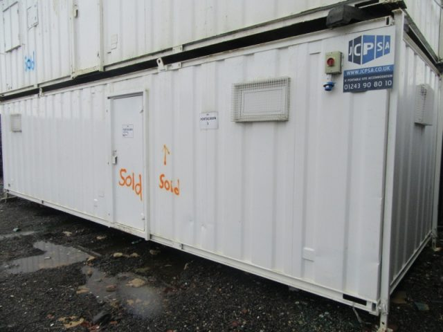 32ft x10ft SITE CABIN SITE CHANGING ROOM DRYING ROOM GOOD CONDITION