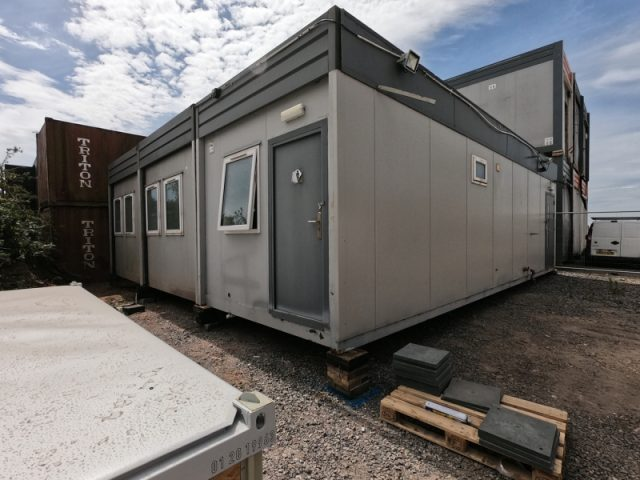 32ft x 30ft 3 BAY MODULAR BUILDING SITE OFFICE CANTEEN PORTABLE BUILDING