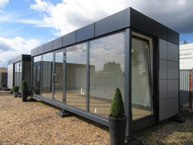24ft x 10ft MARKETING SUITE, SHOWROOM, SALES OFFICE, SITE CABIN, HOSPITALITY UNIT