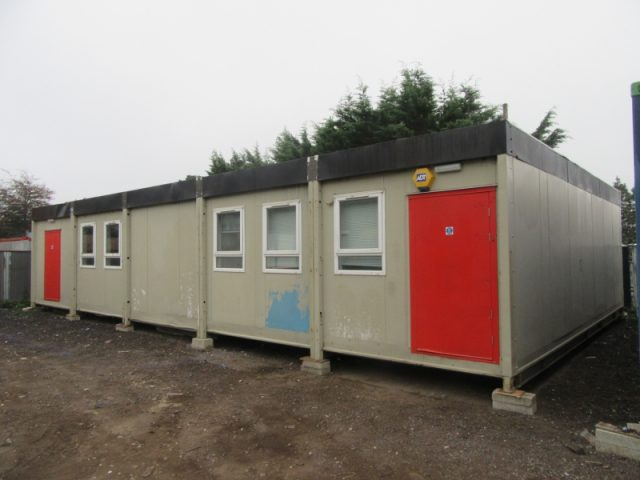 30ft x 50ft 5 BAY MODULAR BUILDING CLASS ROOM SITE OFFICE PORTABLE BUILDING