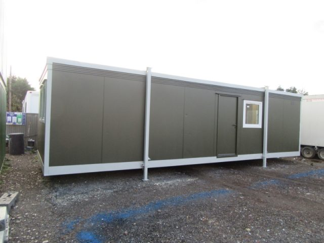 32ft x 10ft PORTABLE SITE OFFICE, CANTEEN, REST ROOM PORTABLE BUILDING