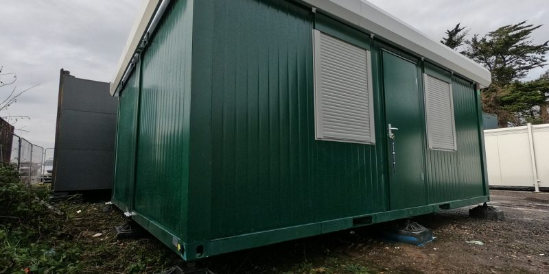 20ft x 16ft NEW SITE OFFICE 2 BAYS MODULAR BUILDING PORTABLE UNIT