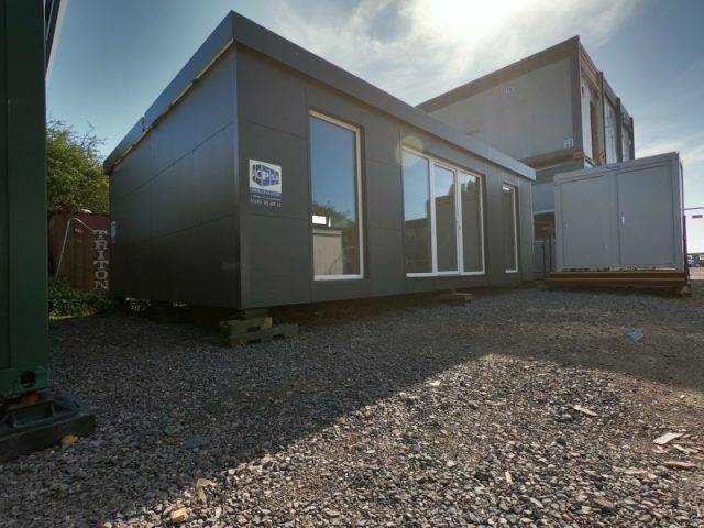 28ft x 20ft TWO BAY MODULAR BUILDING PORTABLE OFFICE, SALES UNIT