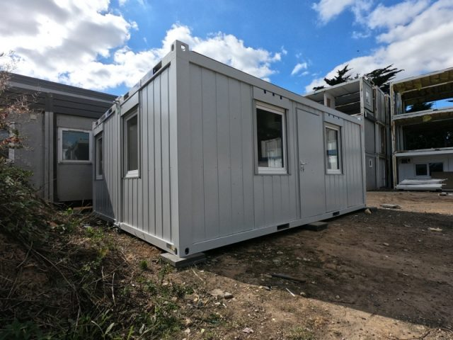 20ft x 16ft NEW SITE OFFICE 2 BAYS MODULAR BUILDING PORTABLE UNIT