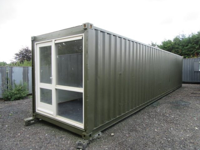 40ft x 8ft ACCOMMODATION UNIT, SLEEPER UNIT, SUMMER HOUSE, HOTEL HOSTEL, STUDENT