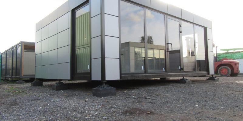 20ft x 24ft BRAND NEW 2 BAY MODULAR BUILDING SALES OFFICE SHOP HOSPITALITY UNIT