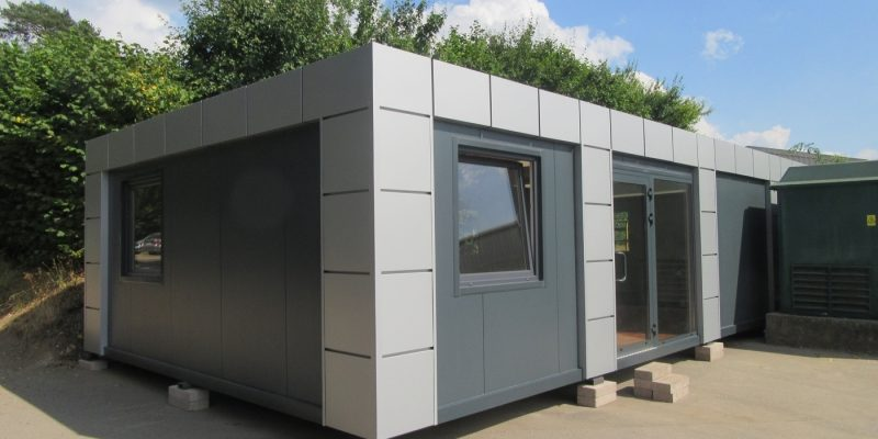20ft x 40ft BRAND NEW 4 BAY MODULAR BUILDING SALES OFFICE SITE OFFICE