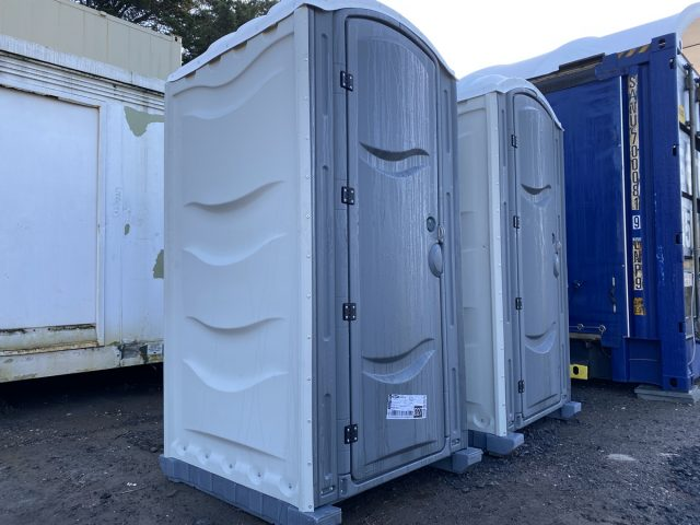 4ft x 4ft NEW CHEMICAL PORTABLE TOILET BUILDERS LOO SINGLE TOILET